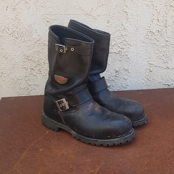 Red Wing 988 Engineer Boots   Poshmark